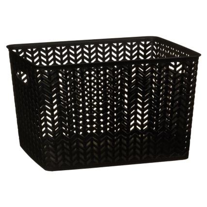 343026-large-chevron-plastic-storage-basket-black