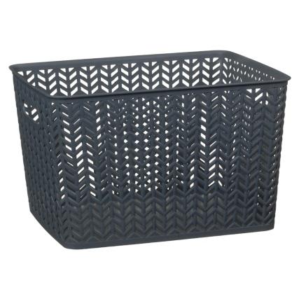 343026-large-chevron-plastic-storage-basket-grey