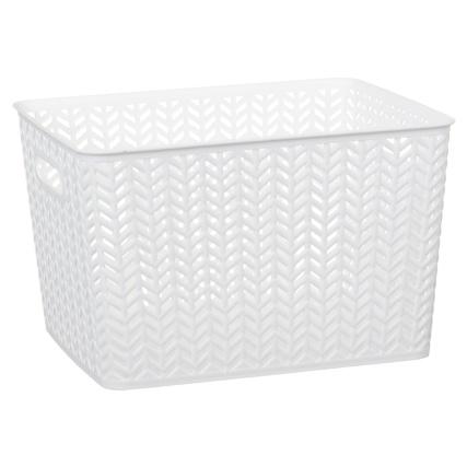 343026-large-chevron-plastic-storage-basket-white