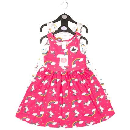 343321-girls-2pk-dress-unicorn-pink-white-2