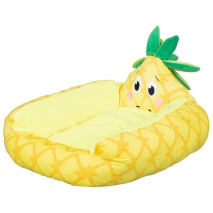 Novelty Fruit Pet Bed - Pineapple