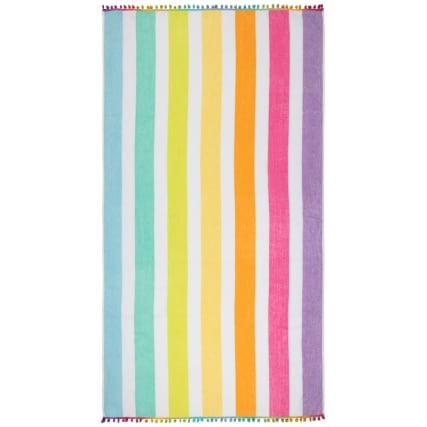 344470-oversized-pom-pom-beach-towel-rainbow-stripe-2