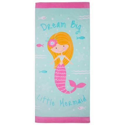 344714-printed-kids-beach-towel-mermaid