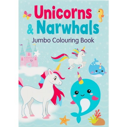 335438-unicorn-and-narwhal-jumbo-colouring-book