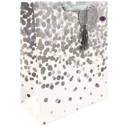 344900-occasions-gift-bag-silver-spot-large-2