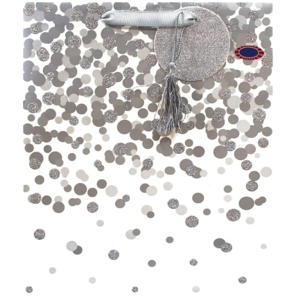 344900-occasions-gift-bag-silver-spot-large