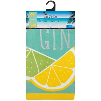 344940-printed-alcohol-beach-towel-gin