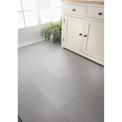 Grey Stripe Effect Vinyl Tiles 6pk 60 X 30cm Diy Vinyl