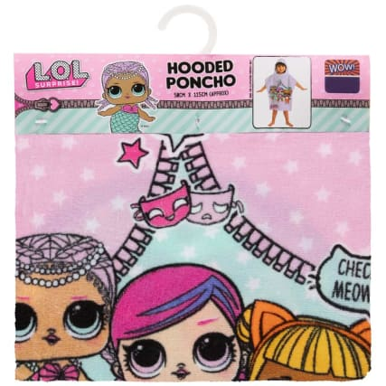 345363-lol-dolls-hooded-poncho
