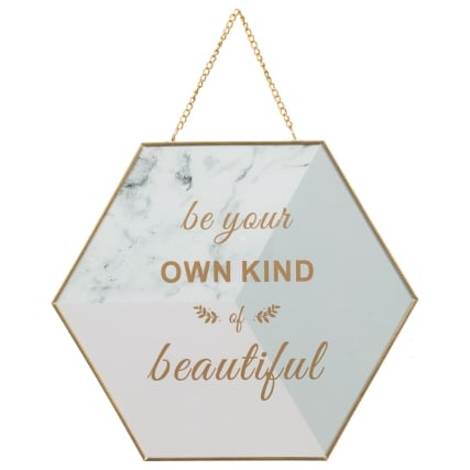 345438-metal-plaque-be-your-own-kind-of-beautiful