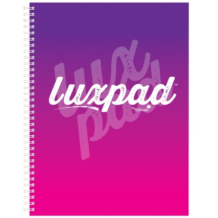 345522-silvine-luxpad-a4-notebook-purple-pink