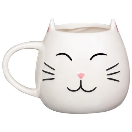 345645-pearlised-animal-mug-cat