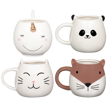 345645-pearlised-animal-mug-group