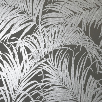 345746-foil-palm-leaf-grey-gunmetal-wallpaper