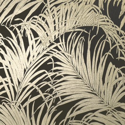 345748-foil-palm-leaf-bronze-wallpaper-2
