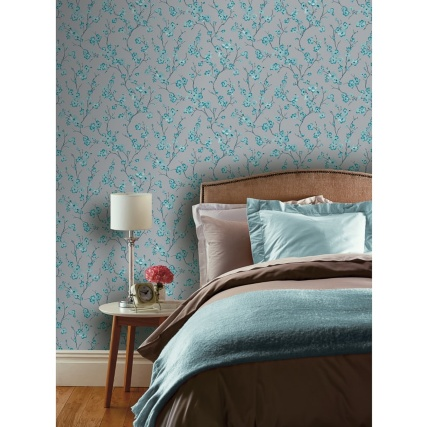 345813-arthouse-oriental-blossom-teal-wallpaper-2