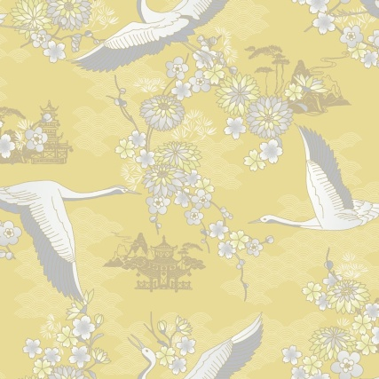 345874-rasch-cranes-yellow-wallpaper-2