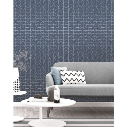 345879-rasch-retro-geo-navy-wallpaper