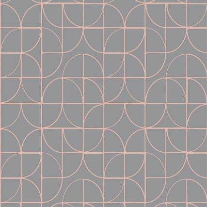 345882-rasch-retro-geo-charcoal-rose-gold-wallpaper-2