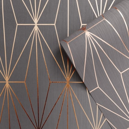 346025-muriva-kayla-charcoal-rose-gold-wallpaper