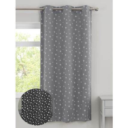 346100-grey-stars-glow-in-the-dark-curtain-panel