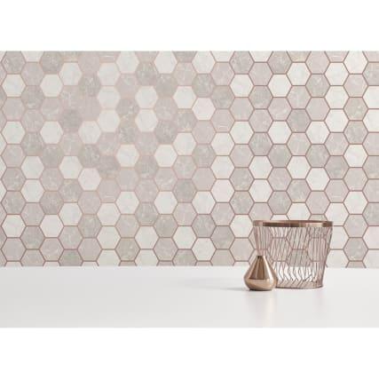 346145-fine-decor-metro-hex-marble-rose-gold-wallpaper-2