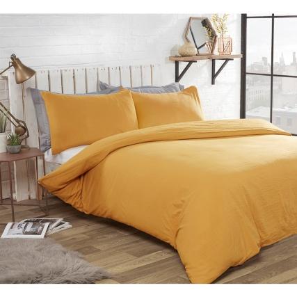 346328-346329-washed-linen-look-ochre-duvet-set
