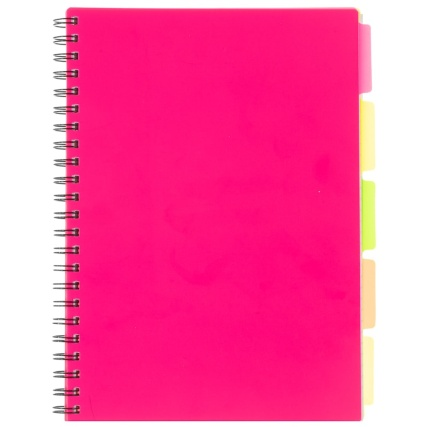 346856-a4-project-book-pink
