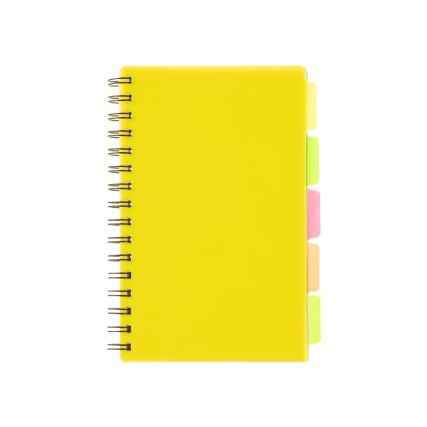 346857-a5-project-book-yellow