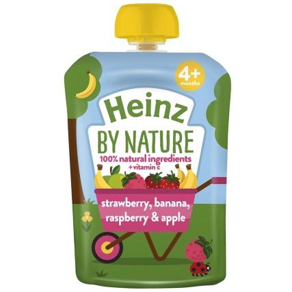 348213-heinz-by-nature-strawberry-banana-raspberry-apple-pouch-100g