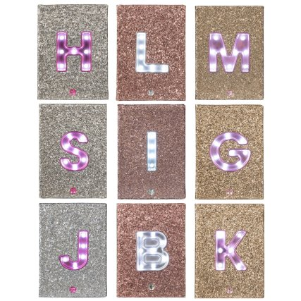 A5 Light Up Alphabet Notebook by B&M