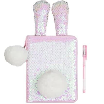 350293-sequin-bunny-notebook-pink-2