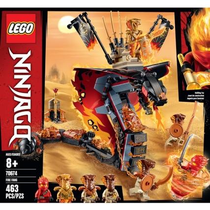 Lego Ninjago Fire Fang Construction Toys B Amp M
