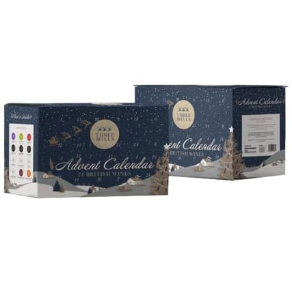 Three Mills 24 British Wines Advent Calendar