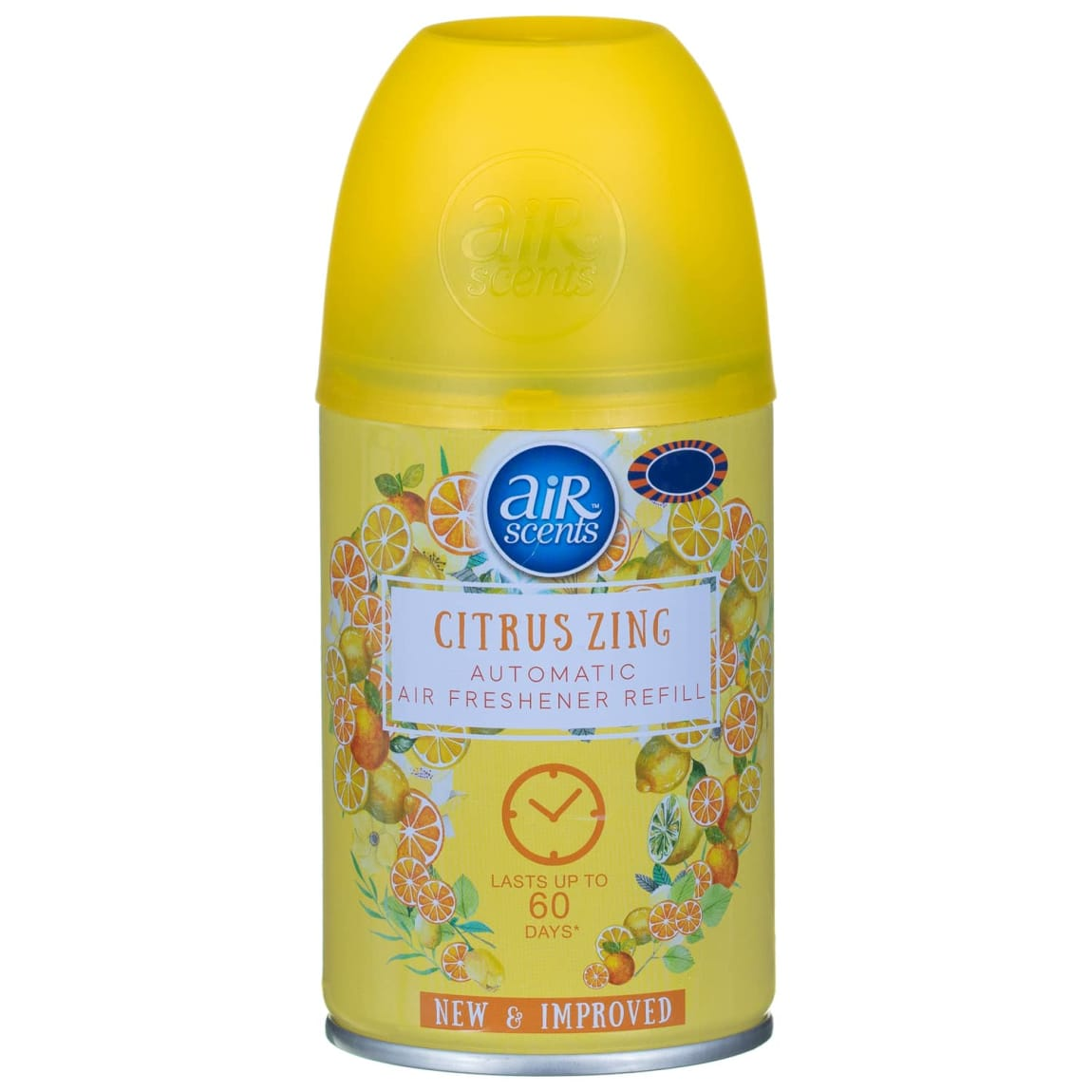 AirScents Automatic Air Freshener Refill 250ml - Citrus Zing