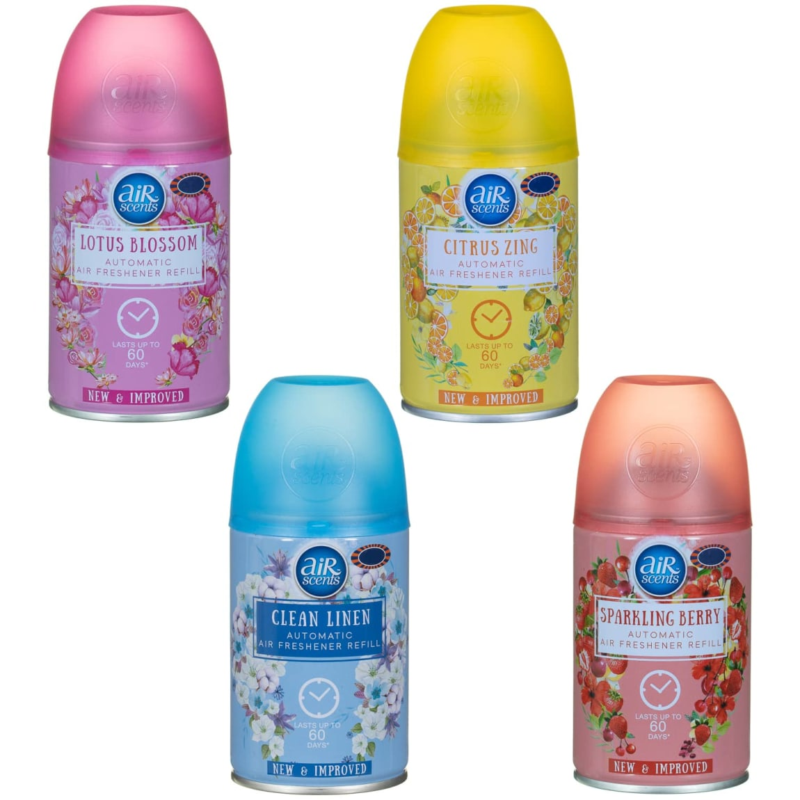 AirScents Automatic Air Freshener Refill 250ml - Clean Linen