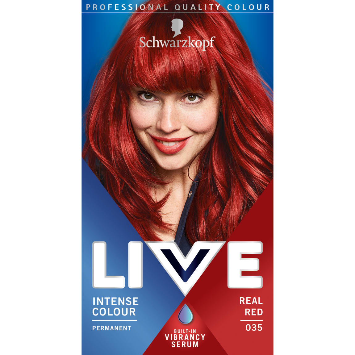 Schwarzkopf Live Intense Colour - Real Red