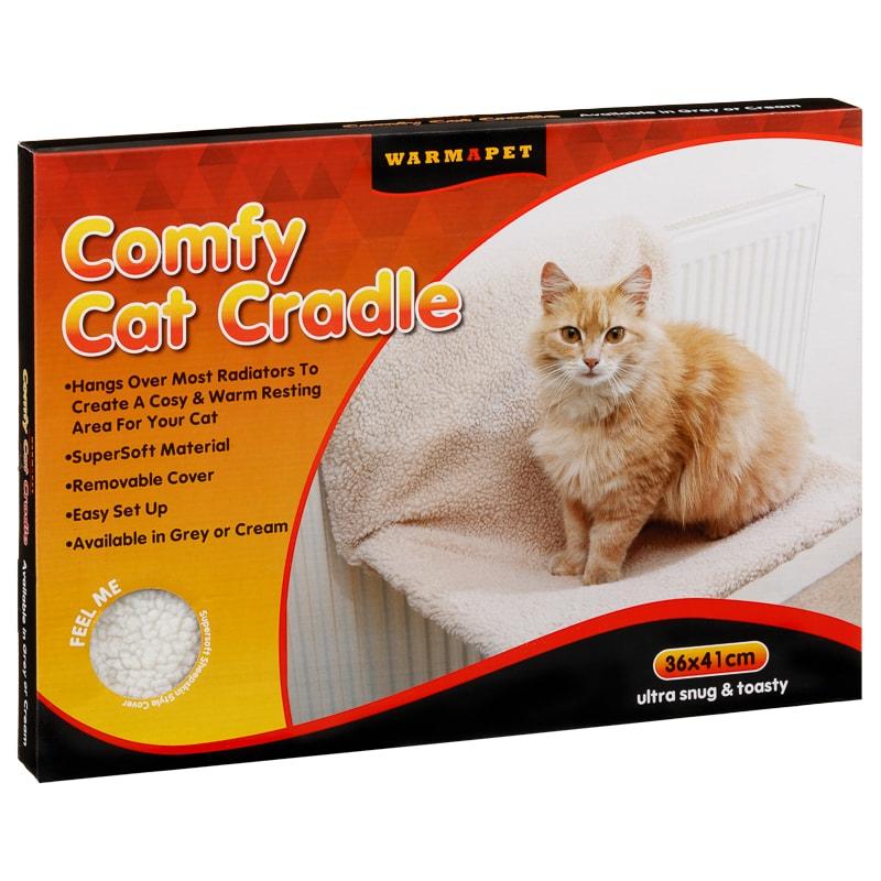 Comfy Cat Cradle - Cream