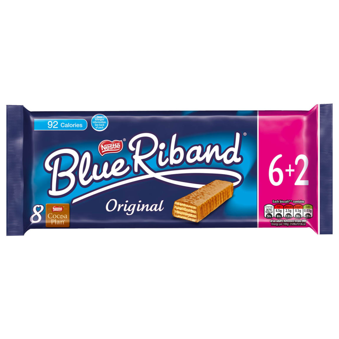 Nestle Blue Riband Original 6+2 Pack