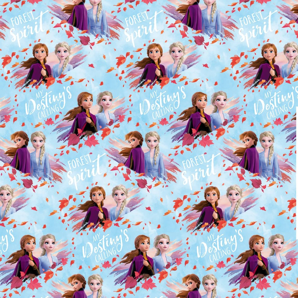 Frozen 2 Wrapping Paper 3m