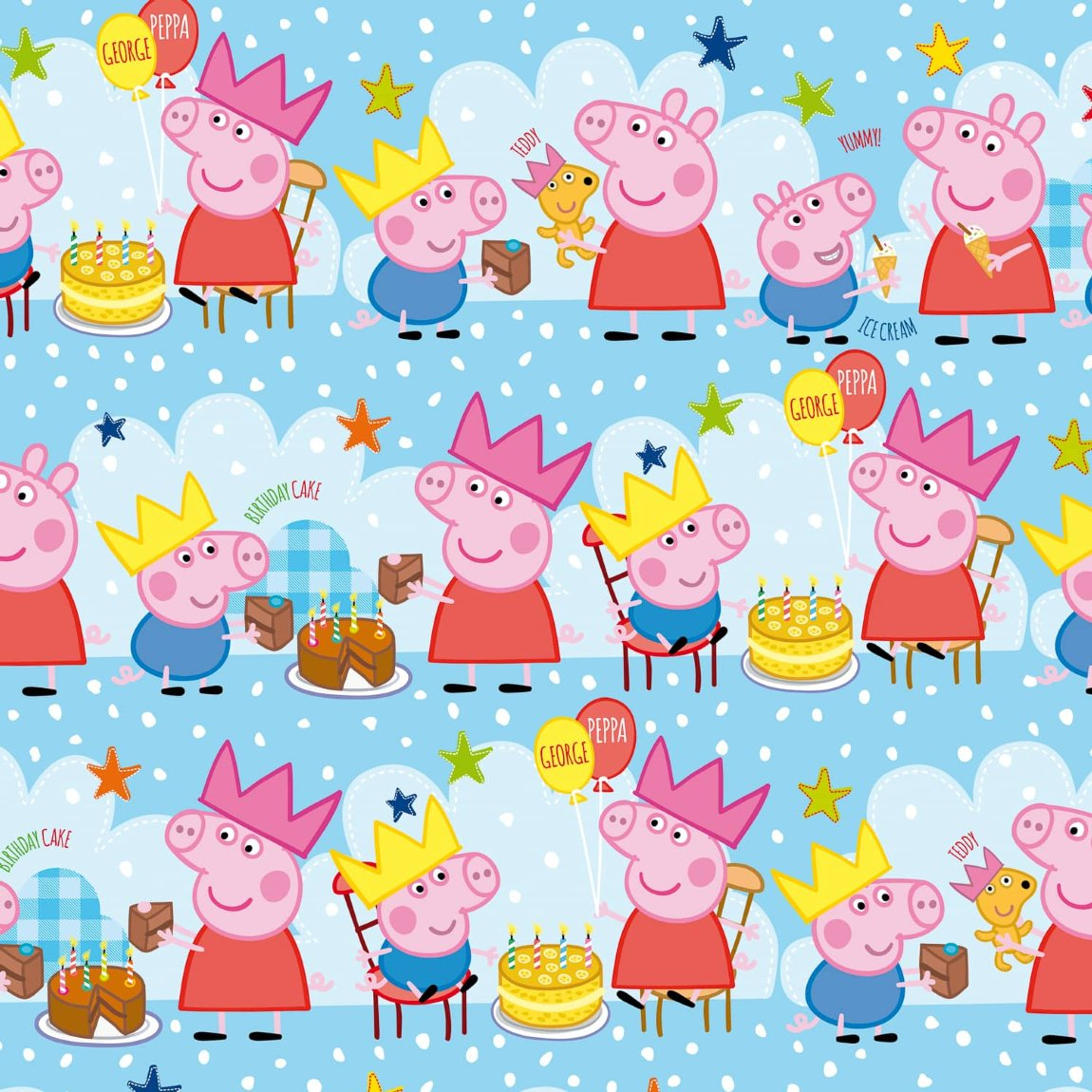 Peppa Pig Wrapping Paper 3m