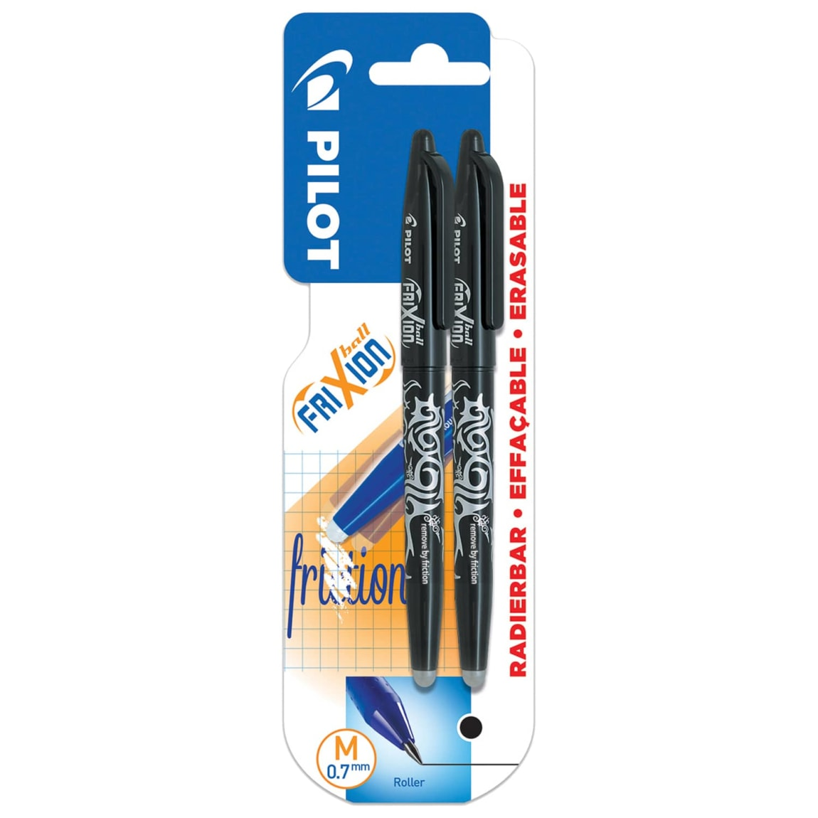 Pilot FriXon Erasable Pens 2pk - Black
