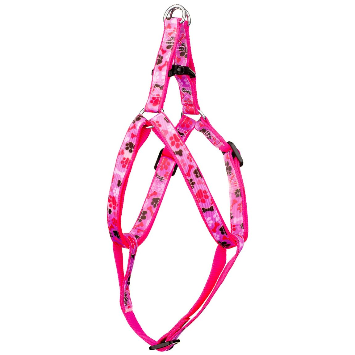 Pooch Couture Adjustable Dog Harness - Small - Pink