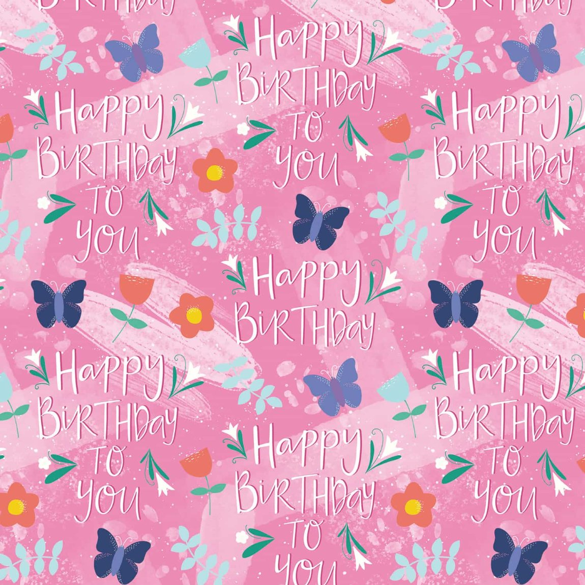 Everyday Wrapping Paper 3m - Butterflies