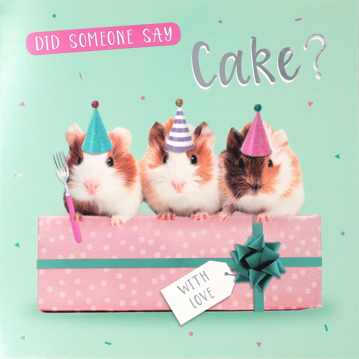 Did Someone Say Cake Birthday Card