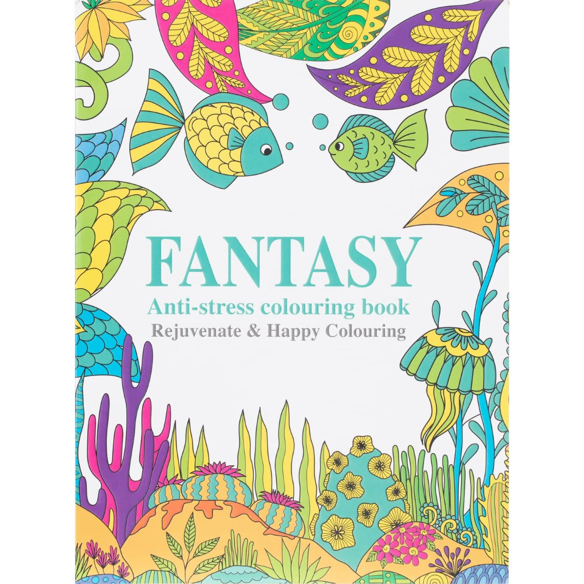 Fantasy Adult Colouring Book