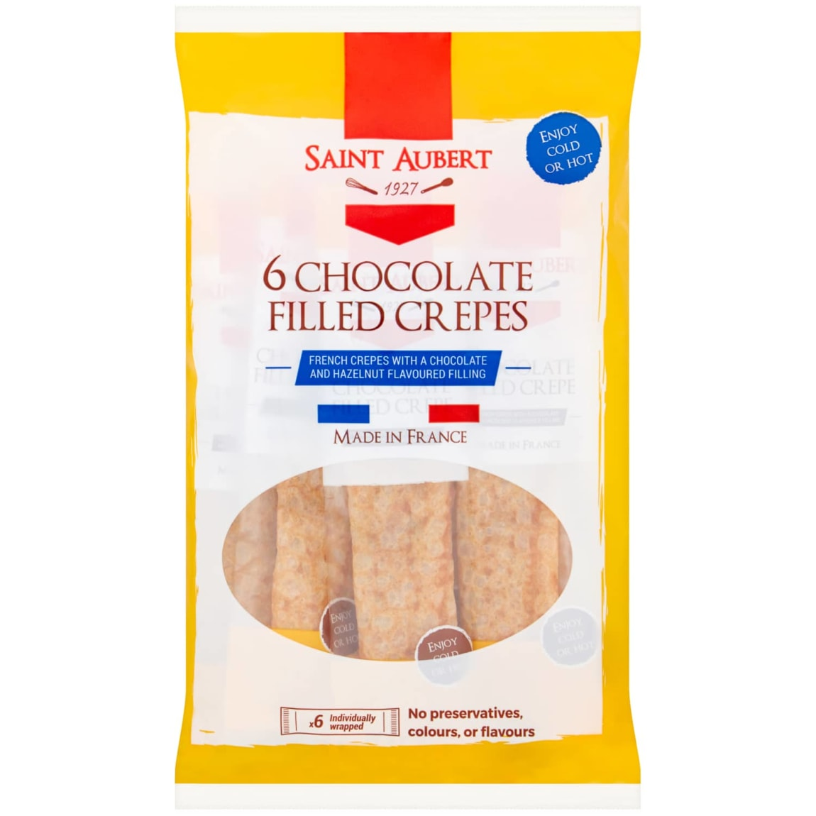 St. Aubert Chocolate Filled Crepes 6pk