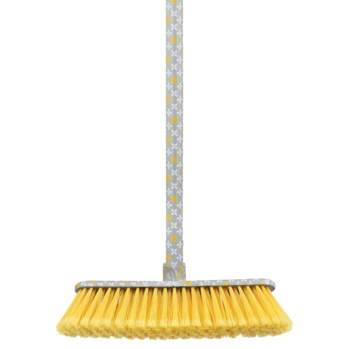 Printed Broom - Yellow Geo