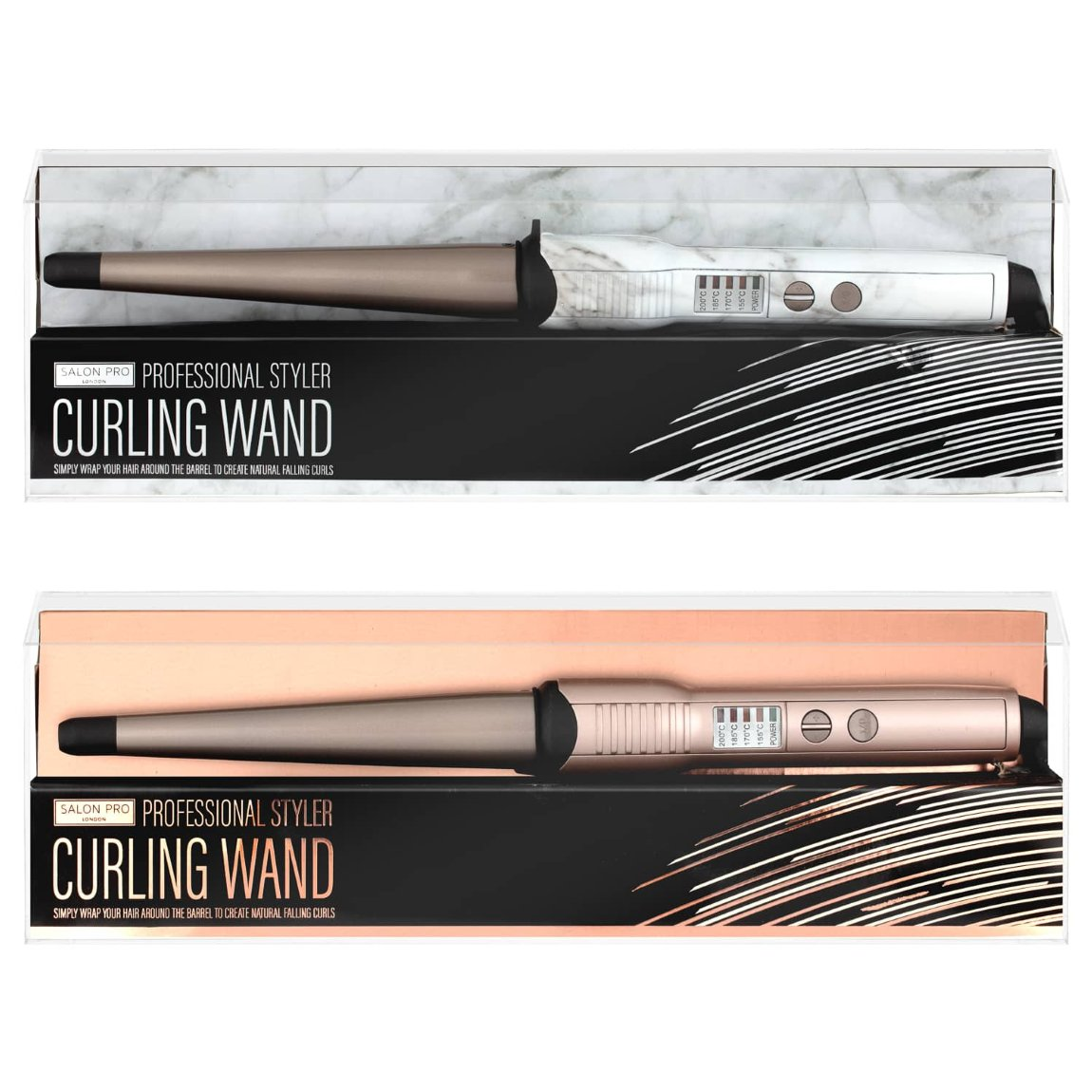 Salon Pro Curling Wand - Rose Gold