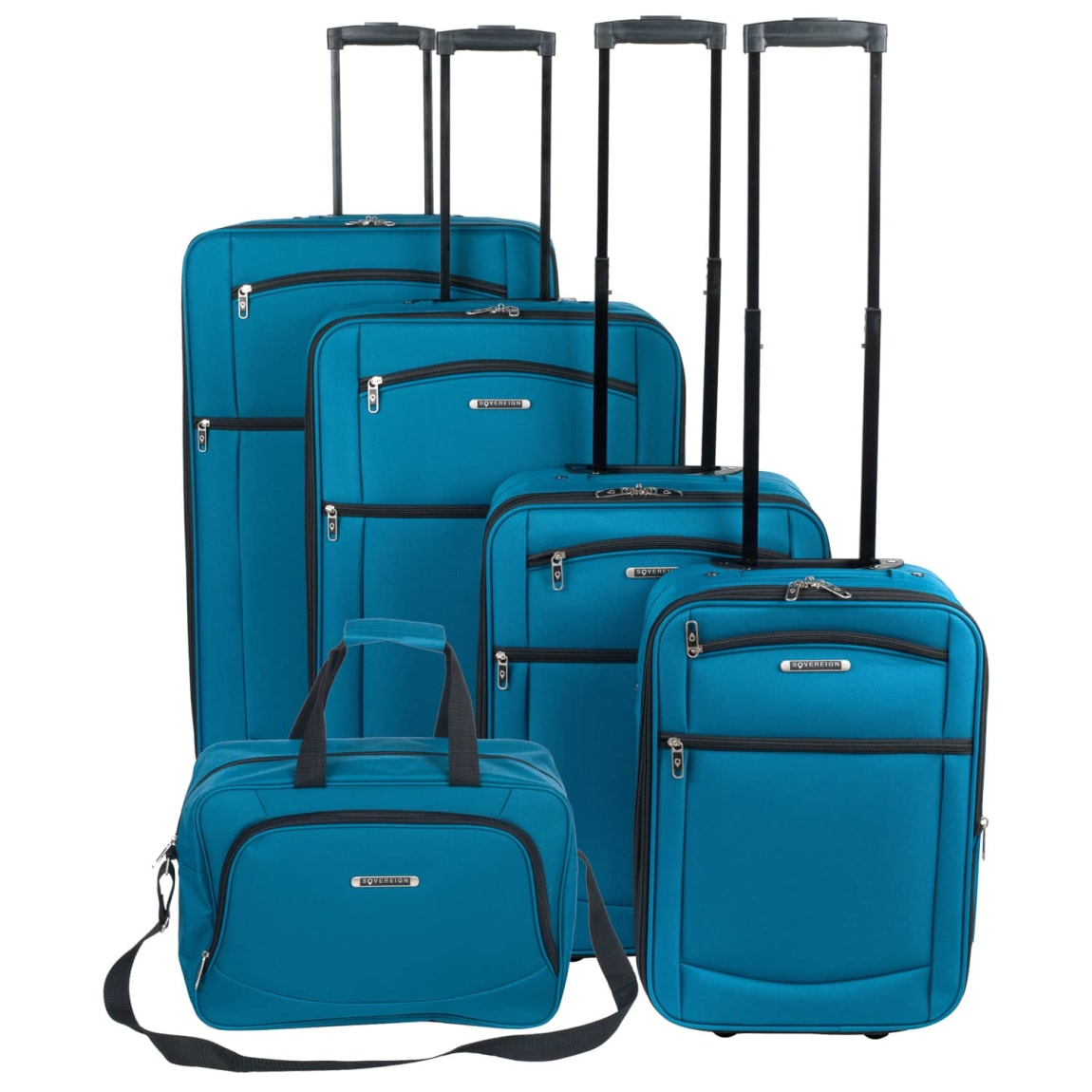 Sovereign Suitcase range - Teal